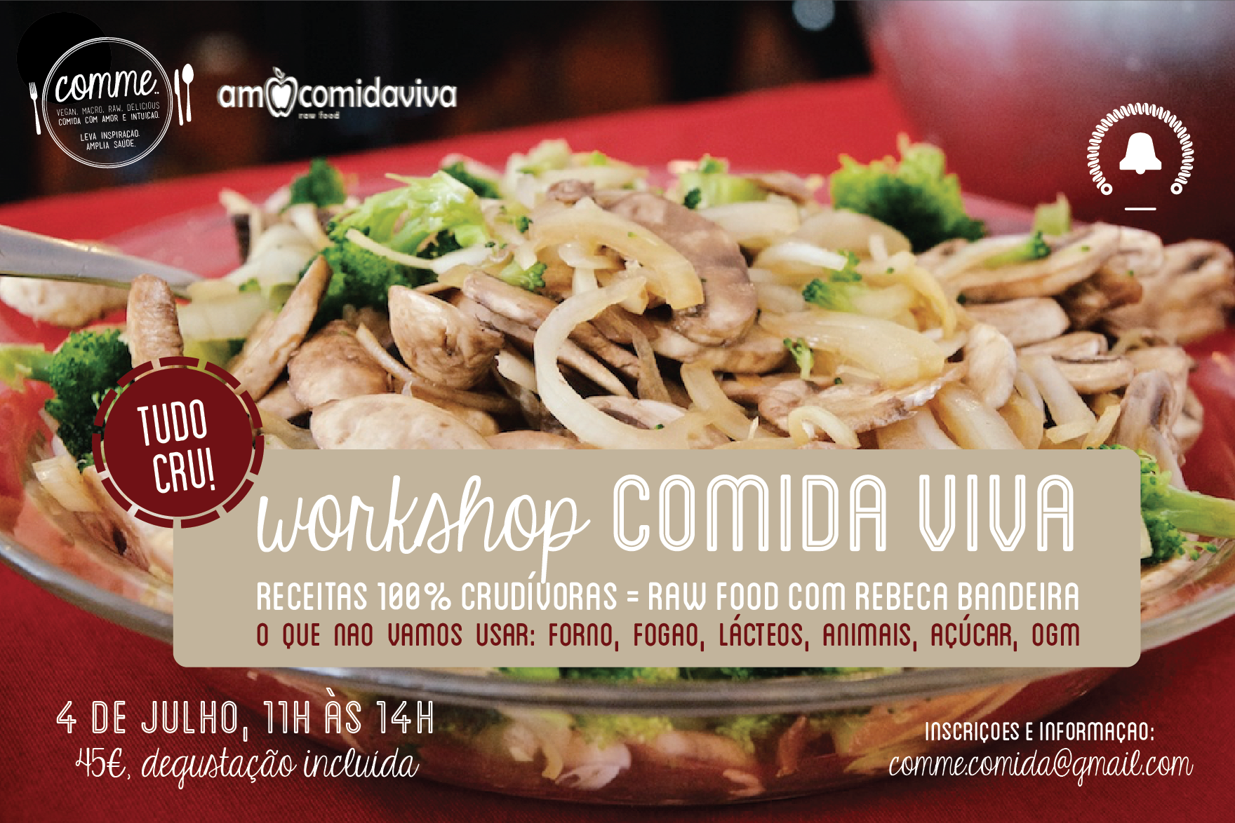 workshop comida viva